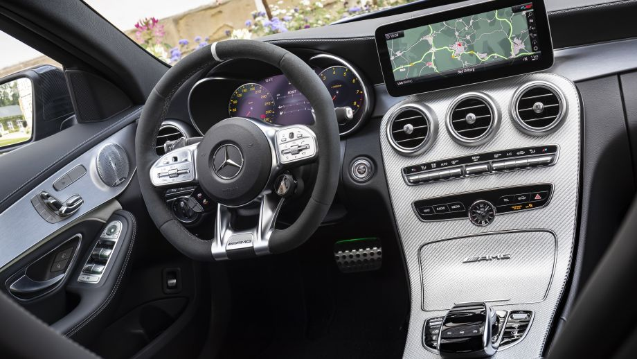 Mercedes-AMG C63 Limousine Facelift 2018 Interieur