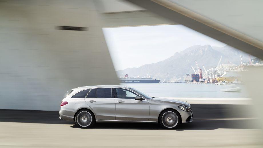 Mercedes-Benz C-Klasse T-Modell Kombi 2018 Facelift Seite