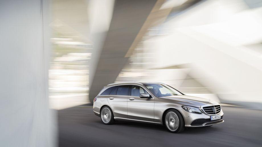 Mercedes-Benz C-Klasse T-Modell Kombi 2018 Facelift fahrend