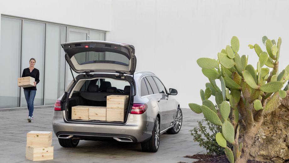 Mercedes-Benz C-Klasse T-Modell Kombi 2018 Facelift Kofferraum