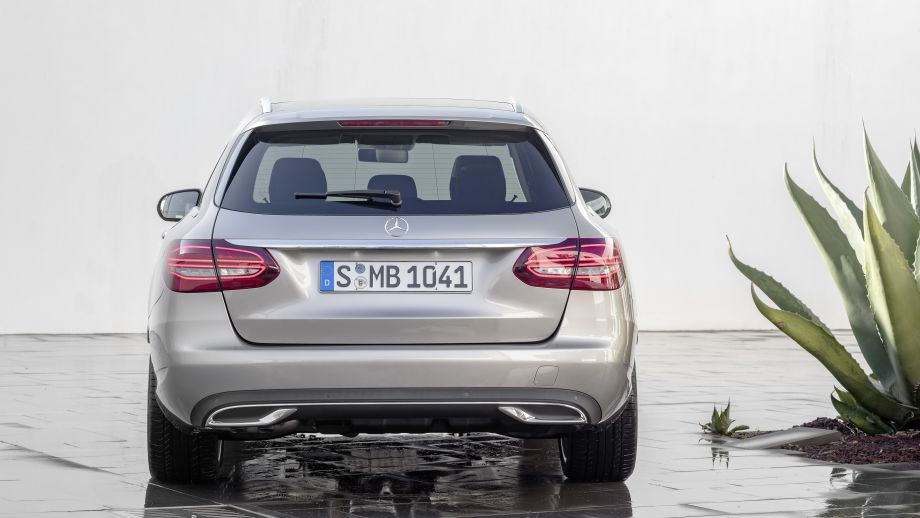 Mercedes-Benz C-Klasse T-Modell Kombi 2018 Facelift Heck