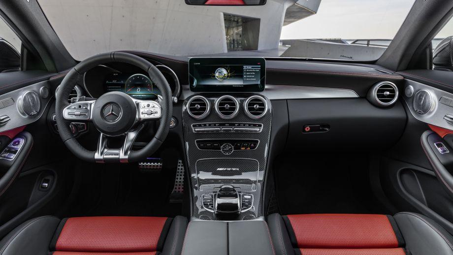 Mercedes-AMG C63 T-Modell 2018 Facelift Cockpit