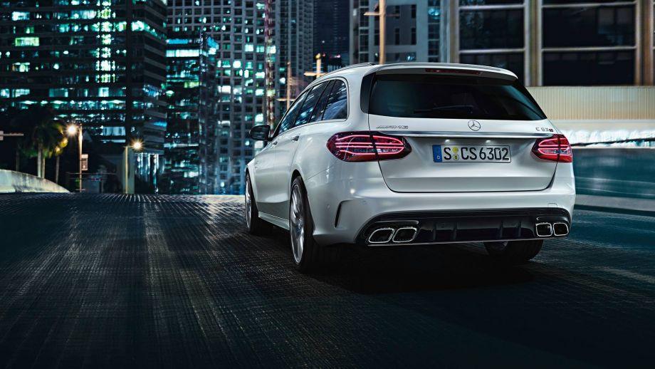 Mercedes-AMG C63 T-Modell 2018 Facelift Heck