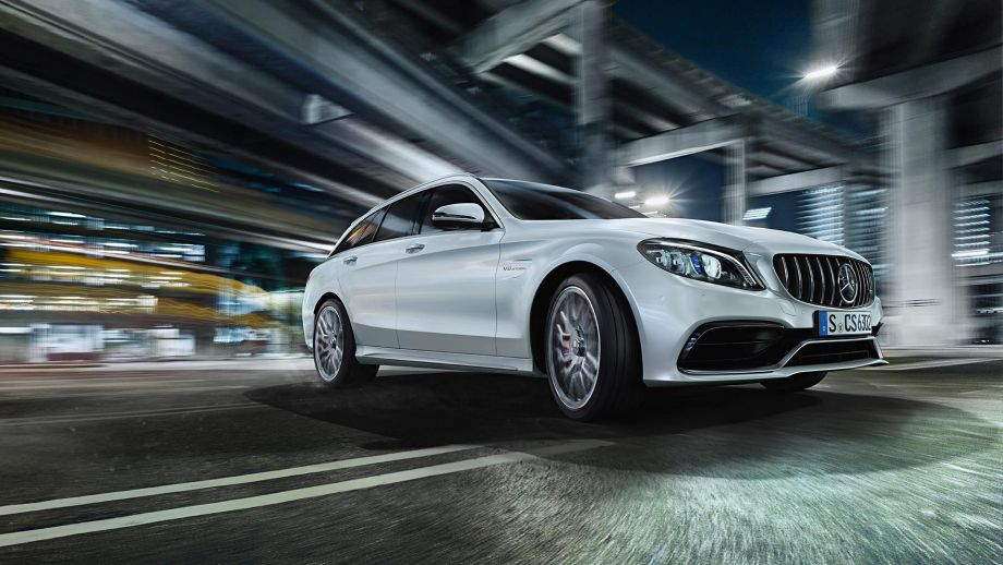 Mercedes-AMG C63 T-Modell 2018 Facelift Front