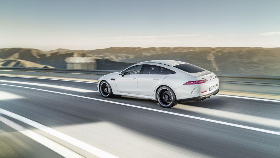 Mercedes-AMG GT 4-Türer Coupé GT 53 4MATIC+ Seite