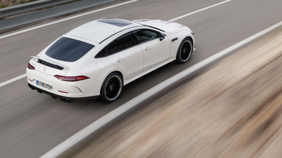 Mercedes-AMG GT 4-Türer Coupé GT 53 4MATIC+ Spoiler