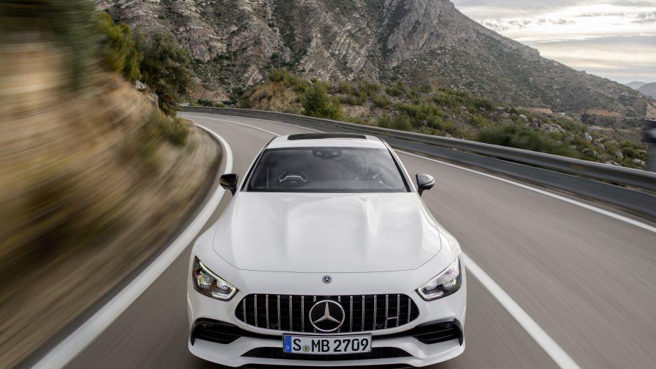 Mercedes-AMG GT 4-Türer Coupé GT 53 4MATIC+ Grill