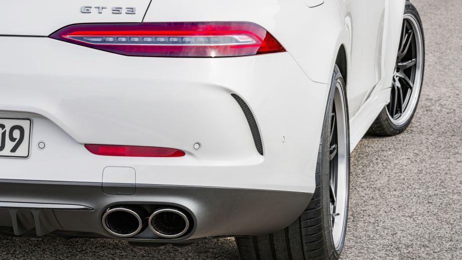 Mercedes-AMG GT 4-Türer Coupé GT 53 4MATIC Endrohre