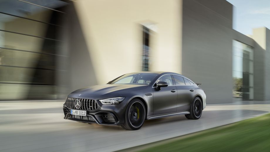 Mercedes-AMG GT 63 S 4MATIC+ fahrend