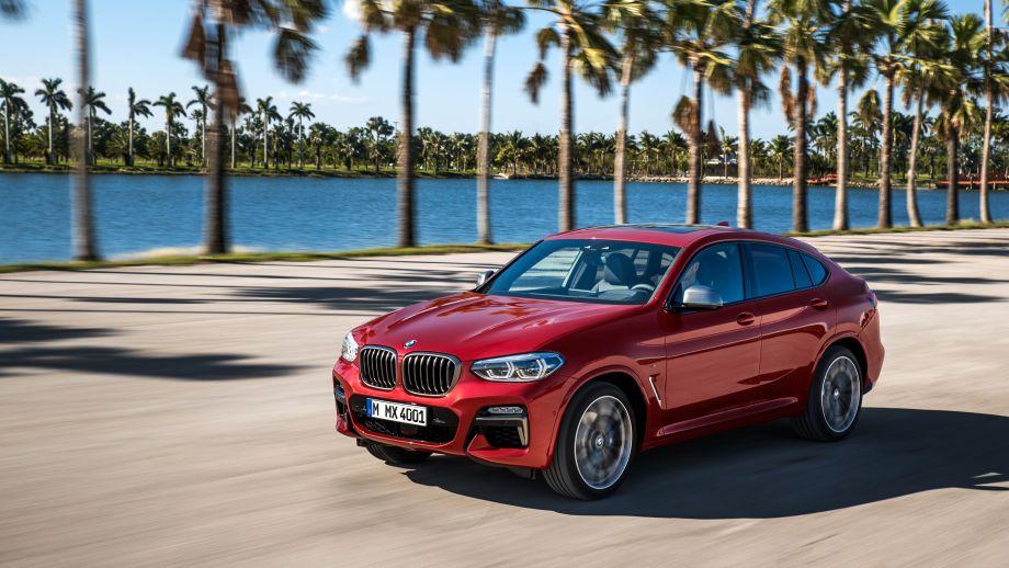 BMW X4 SAC 2018 Fahrend
