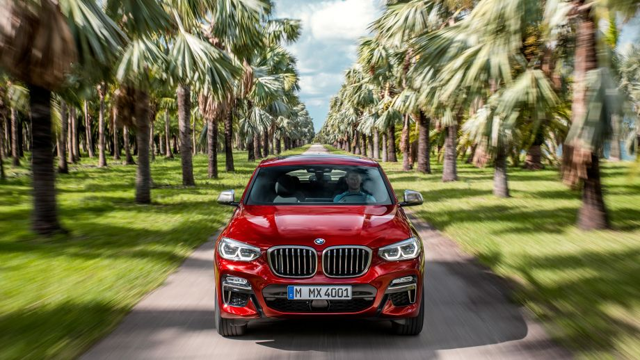 BMW X4 SAC 2018 Front
