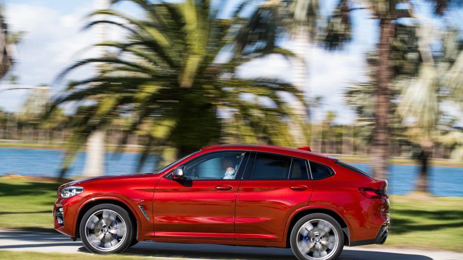 BMW X4 SAC 2018 Profil