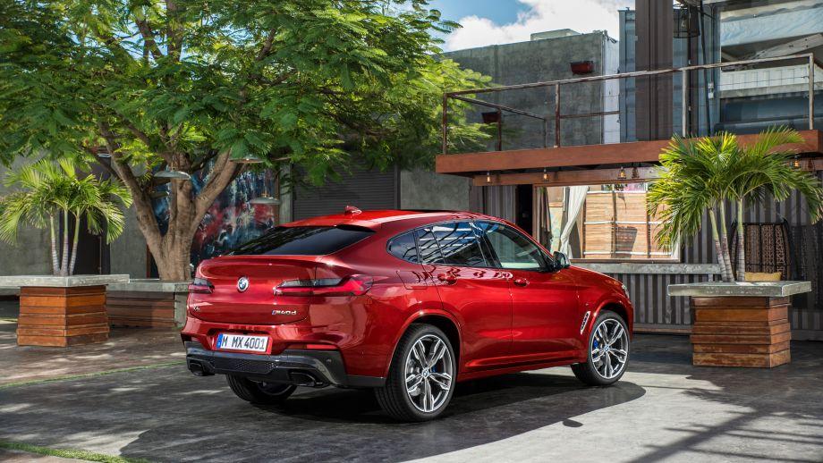 BMW X4 SAC 2018 Heck