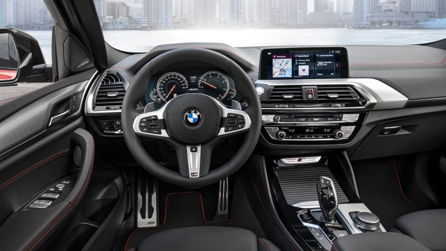 BMW X4 SAC 2018 Cockpit