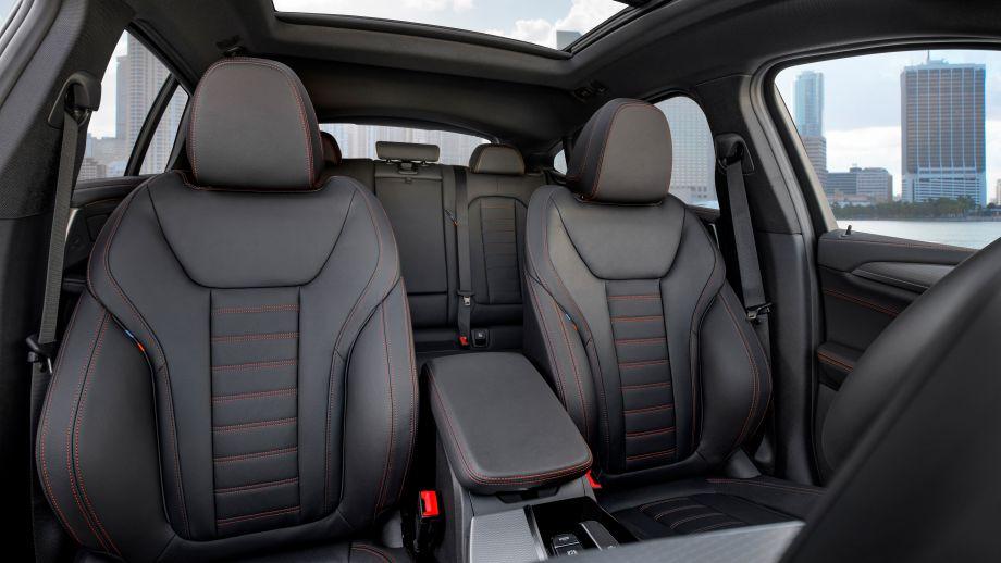 BMW X4 SAC 2018 Innenraum
