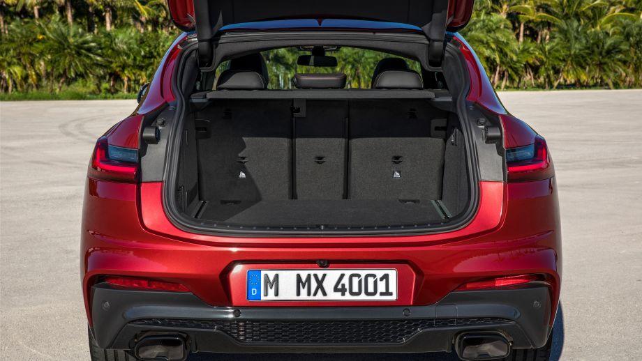 BMW X4 SAC 2018 Kofferraum