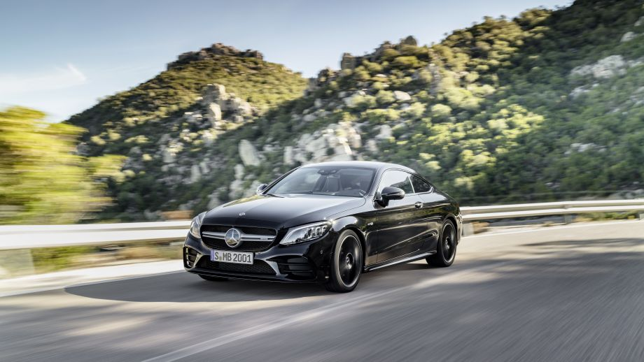 Mercedes-AMG C 43 4MATIC Coupé Facelift 2018 dynamisch
