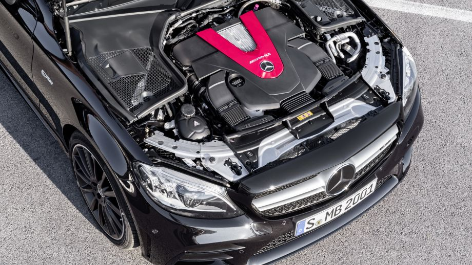 Mercedes-AMG C 43 4MATIC Coupé Facelift 2018 3.0 Liter Biturbo