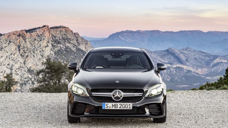 Mercedes-AMG C 43 4MATIC Coupé Facelift 2018 Front Twinblade
