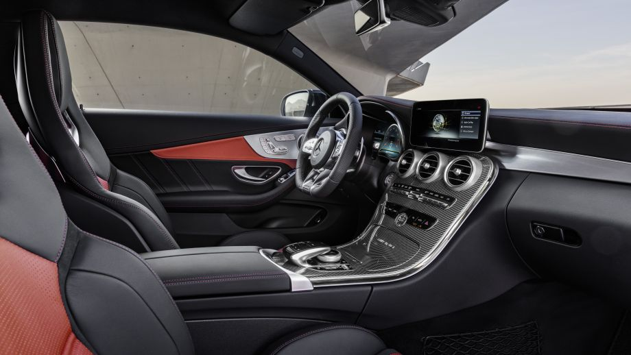Mercedes-AMG C 63 S Coupé Facelift 2018 Interieur