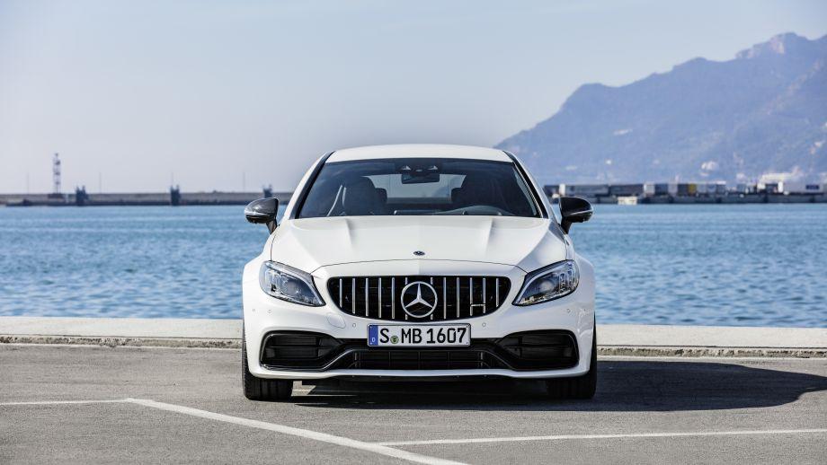 Mercedes-AMG C 63 S Coupé Heck Facelift 2018 Front