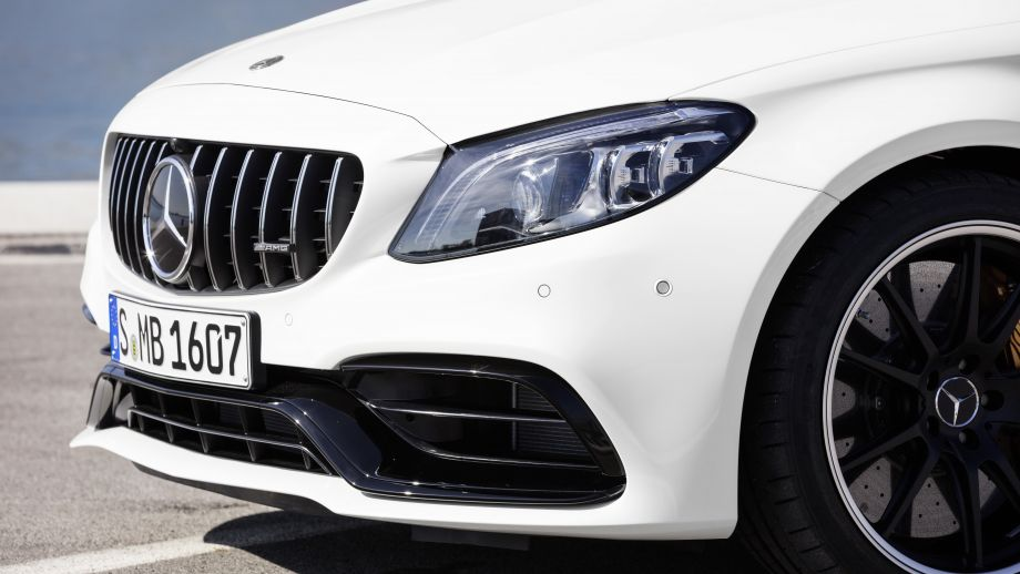 Mercedes-AMG C 63 S Coupé Heck Facelift 2018 Panamericana Grill