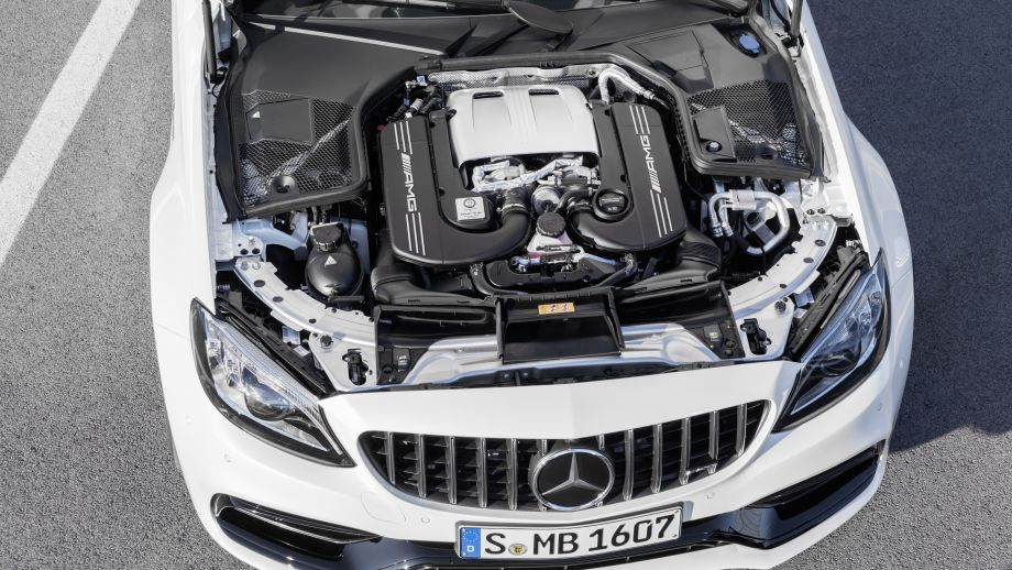 Mercedes-AMG C 63 S Coupé Heck Facelift 2018 4.0 Liter V8 Biturbi