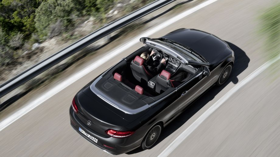 Mercedes-Benz C-Klasse Cabriolet Facelift 2018 dynamisch