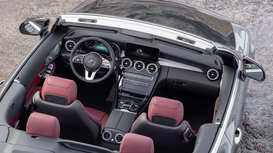 Mercedes-Benz C-Klasse Cabriolet Facelift 2018 Innenraum