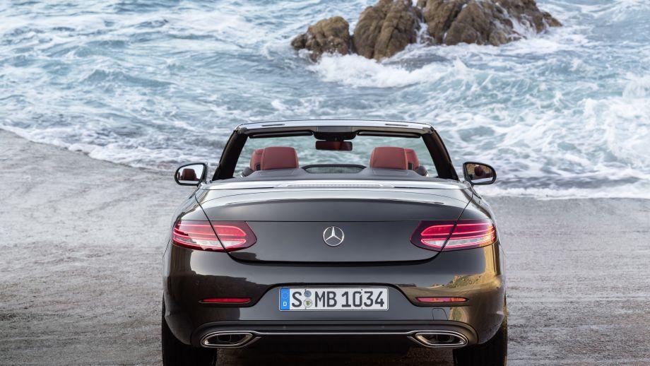 Mercedes-Benz C-Klasse Cabriolet Facelift Heck