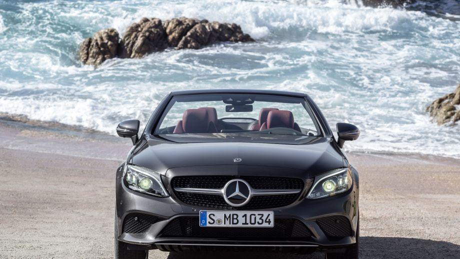 Mercedes-Benz C-Klasse Cabriolet Facelift Front