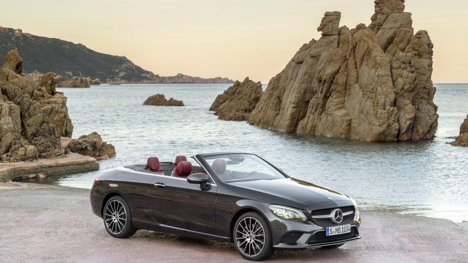 Mercedes-Benz C-Klasse Cabriolet Facelift statisch
