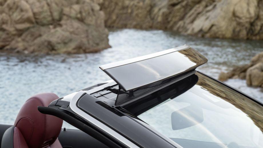 Mercedes-Benz C-Klasse Cabriolet Facelift Front Aircap