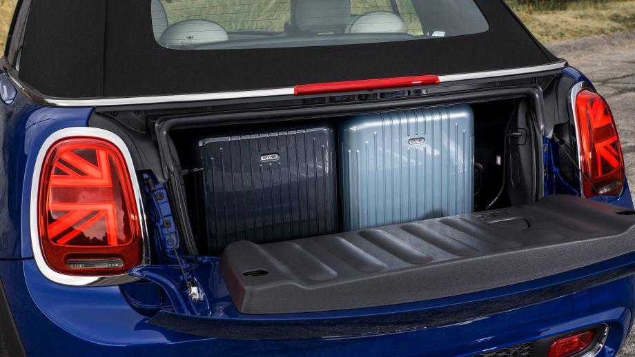 Mini Cooper S Cabrio 2018 Facelift Kofferraum