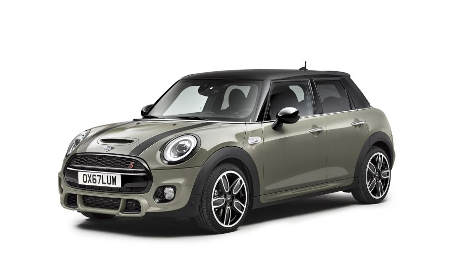 Mini 5 Door Cooper S Facelift 2015 Front