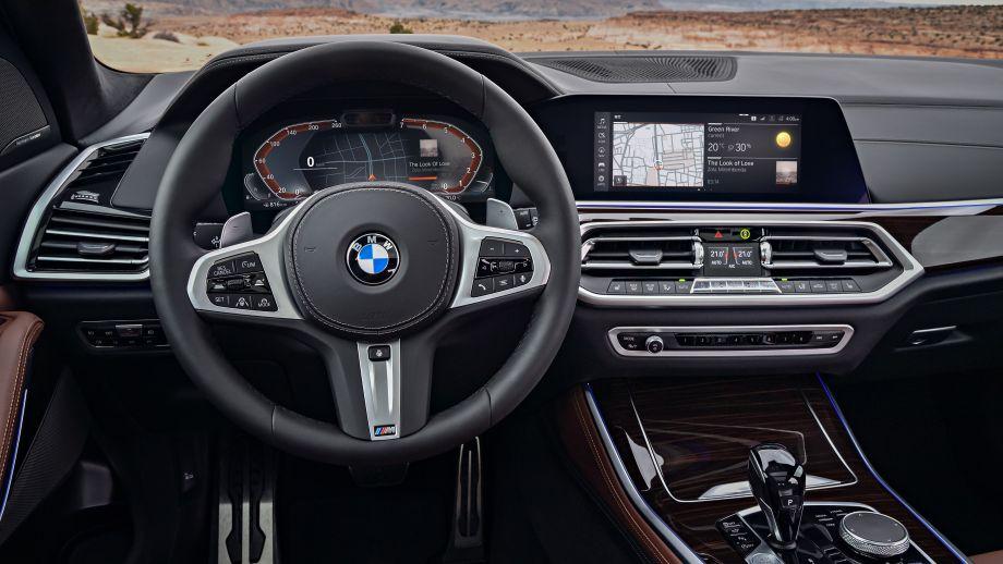 BMW X5 2018 Cockpit