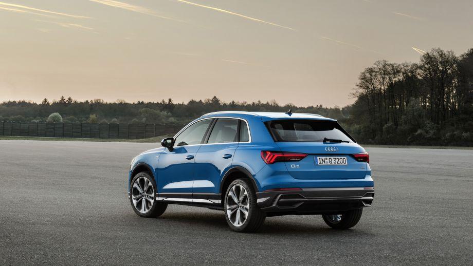 Audi Q3 Heck