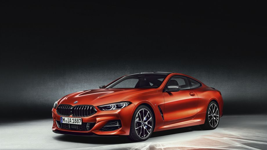BMW M850i Coupé 2018 orange