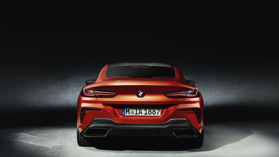 BMW M850i Coupé 2018 Heck