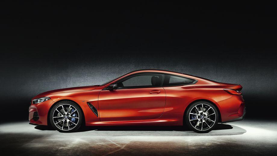 BMW M850i Coupé 2018 Seitenlinie