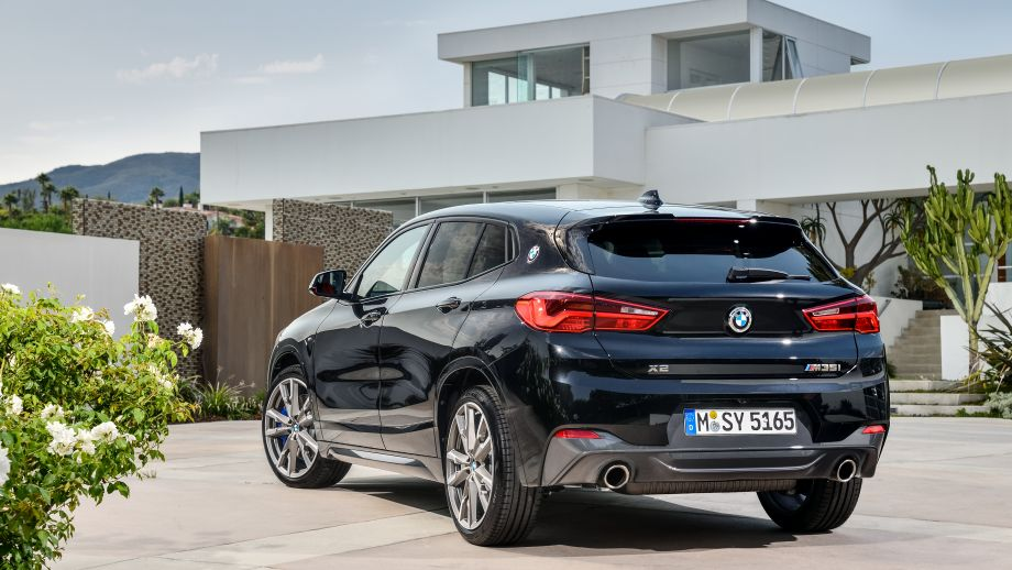 BMW X2 M35i Heck