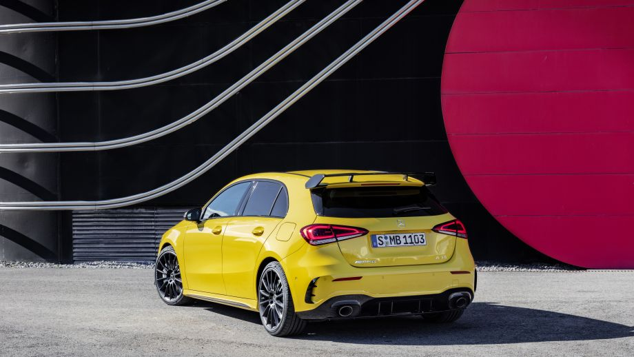 Mercedes-AMG A35 4MATIC Heck