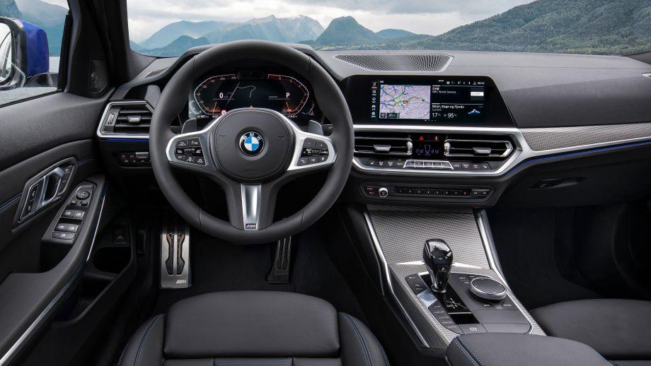 3er BMW Limousine Cockpit