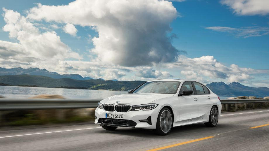 3er BMW Limousine weiss