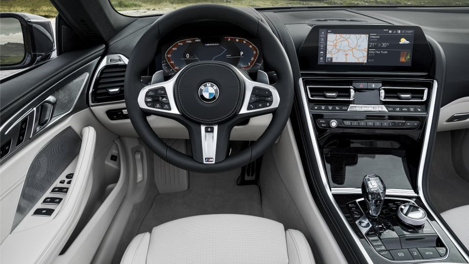 BMW 8er Cabriolet Cockpit