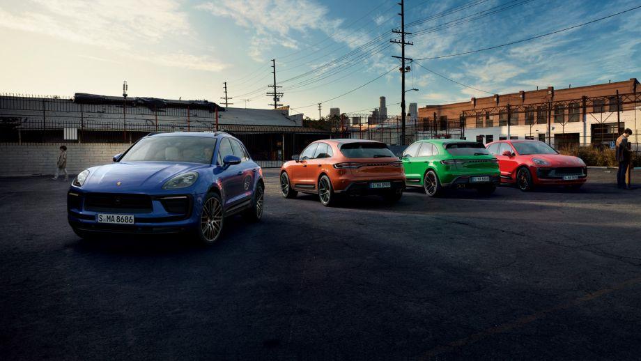 Porsche Macan zweites Facelift