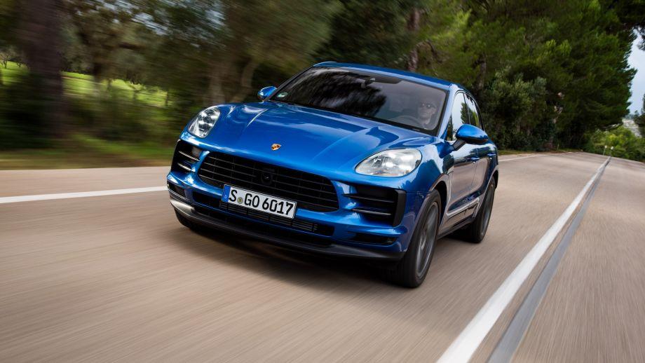 Porsche Macan Facelift 2019 Front Sapphire Blue