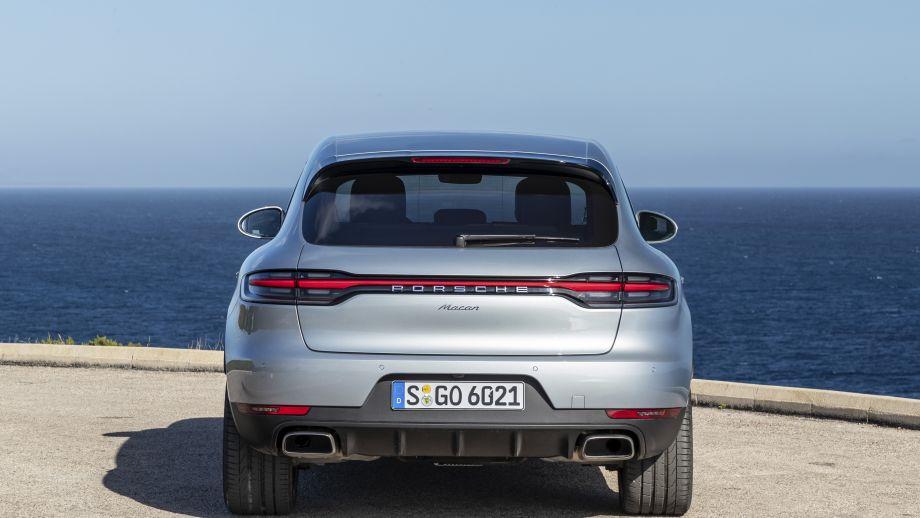 Porsche Macan Facelift 2019 Heck