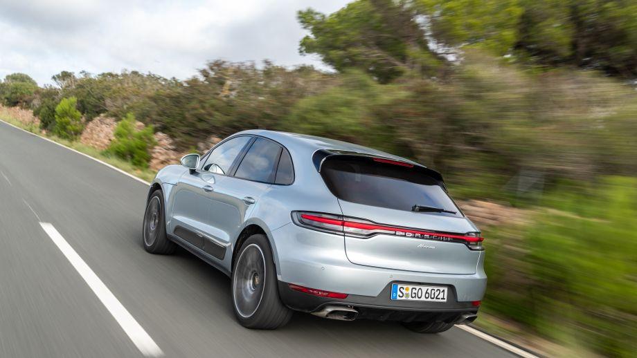 Porsche Macan Facelift 2019 Dolomite Silver