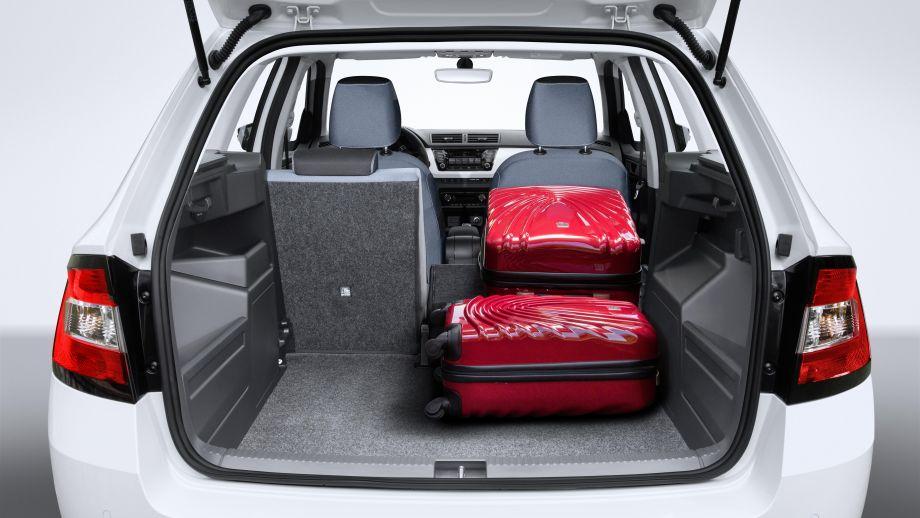 Skoda Fabi Combi Kombi Facelift Kofferraum